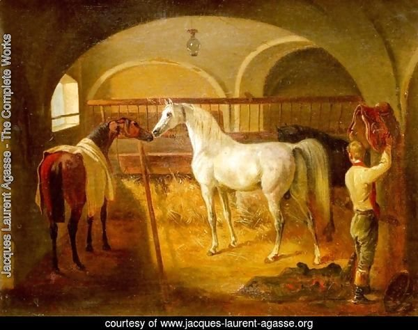 Stallinneres (Inside the Stable)