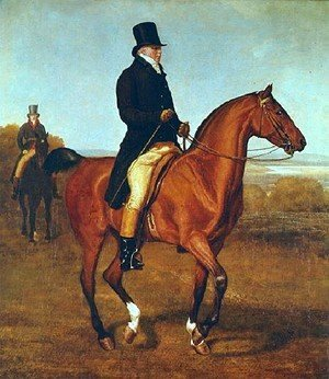 Jacques Laurent Agasse - Lord Heathfield On Horseback
