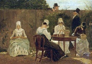 Jacques Laurent Agasse - The Chalon Family In London